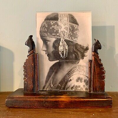 Stunning and Unusual Genuine Antique Art Deco Picture or Photo Frame 1920s 1930s
