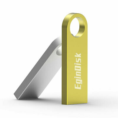 EginDisk Metal Usb Flash Drive 4GB 8GB 16GB 32GB 64GB Custom Logo Memory Stick