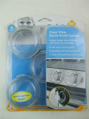 Baby Home Safety 1st Clear View Stove Knob Covers Set of 5