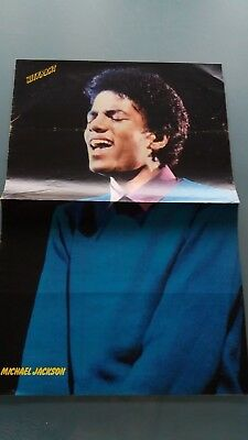 michael jackson poster 2 pages