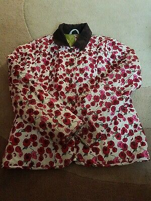Barbour Poppy Jacket Age 10 To 11 Girls