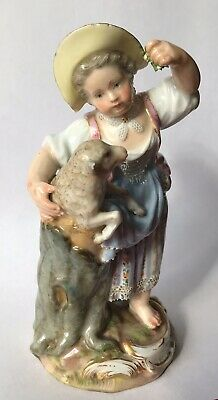 Beautiful Antique 19th Century Meissen Porcelain Figure C1860-80