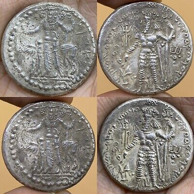 Ancinet Very Old Sasanin Great Condtion Solid Sliver Wonderdull Coin 15Gr