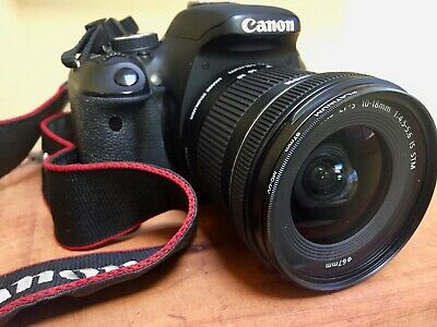 Canon EOS Rebel T3i / EOS 600D 18.0MP Digital SLR Camera - 18-55mm Lens