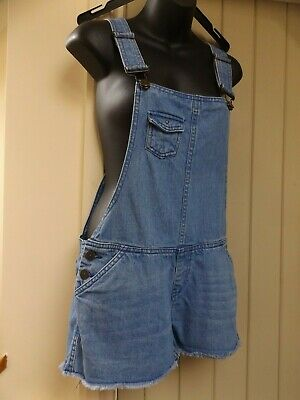 Gorgeous Denim Co. Festival Shorts Jeans Dungarees...size 8...Next Day Postage