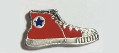 Converse -Chuck Taylor style -Red Tennis Shoe Lapel PIN
