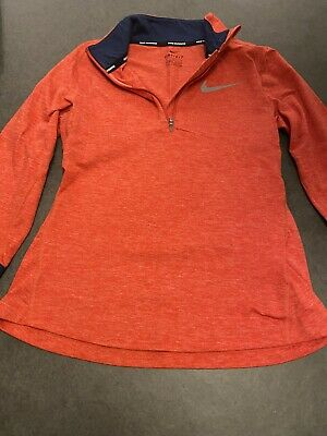 Nike Girls Dri Fit Top Size 10-12 Yrs