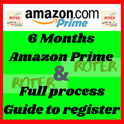6 months Amazon Student Prime Account Unlimited Prime Videos Prime Photo Instant