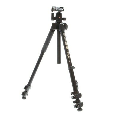 "Manfrotto 290 Light Aluminum 3-Section Tripod, 16.4-56.7"" (MK290LTA3-BHUS) - LM"