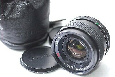 CONTAX Carl Zeiss Distagon T* 35mm F2.8 MMJ MF Lens from Japan #m88