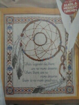 Counted Cross Stitch Pattern / Chart - Dream Catcher Picture