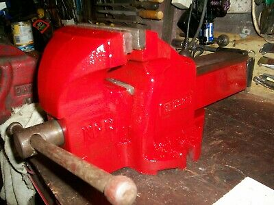 """150MM 6"""" HEAVY DUTY engineers BENCH VICE  MADE IN ENGLAND.. VERY GOOD CONDITION"""