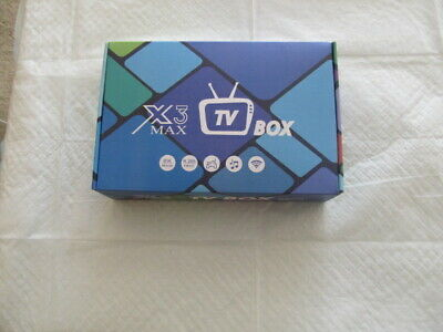 X3 MAX Android 9.0 TV Box 4GB RAM 64GB ROM TV BOX Dual WiFi 3D 4K Ultra HD