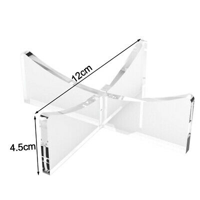 Stable Disassembly Acrylic Football Stand Riser Plinth Volleyball Display Holder