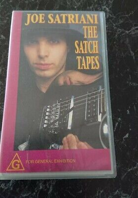Joe Satriani~ The Satch Tapes Vhs Tape