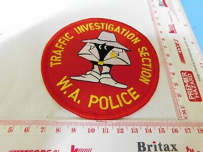 WAPOL Traffic Investigation Section Patch Rare