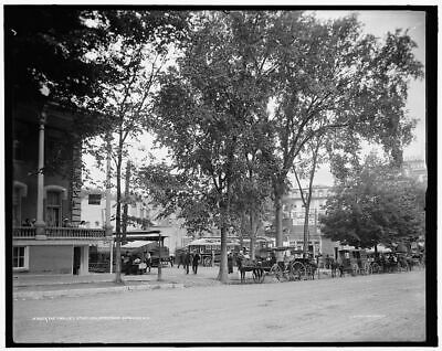 1905 Photo of The Trolley station, Saratoga Springs, N.Y.