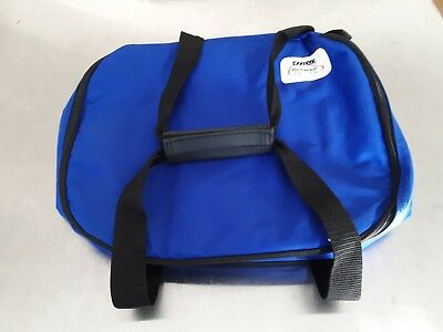 """Pyrex Portables The Way To Go Blue Insulated Carry Bag 13"""" x 11"""" x 3.5"""""""