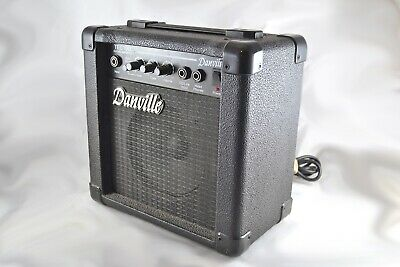 Danville Guitar Amplifier Model TEC10D * Good Working Condition