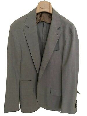 Brunello Cucinelli Light Grey Travel Blazer - Size 50EU (40 US) Great Condition
