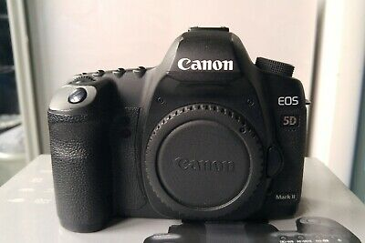 Canon EOS 5D Mark II 21.1MP Digital SLR Camera - Body only  low shutter count