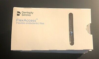 Dentsply Tulsa FlexAccess Endodontic Rotary Files: 8 Packs 15 - 30/.04 Unopened