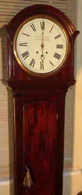 "Antique  Mahogany , Musical 8 Bells ""Gloucester "" Longcase Clock"