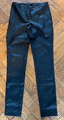 Fitted, Black, Dorothy Perkins, Tight Trousers. Size 8. 30 Inch Inside Leg.