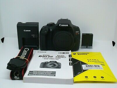 Canon EOS Rebel T6 (EOS 1300D) 18MP Digital SLR Camera Body Only