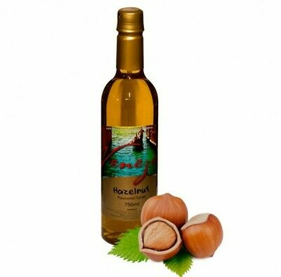 NEW Hazelnut Coffee Syrup - 750ml - EACH - Kent Paper