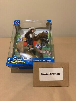 Vintage Grand Champions Classic Horse and Rider Cowgirl 42651251 New