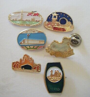Collection of China souvenir  badges