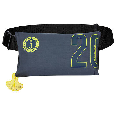 Mustang 20th Anniversary Inflatable Belt Pack PFD Admiral Grey