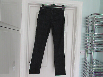 Super NOT YOUR DAUGHTERS JEANS snakeskin print UK 6