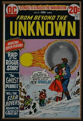 From Beyond The Unknown # 21 : Very Fine+ : March 1973. (Dc Comics).