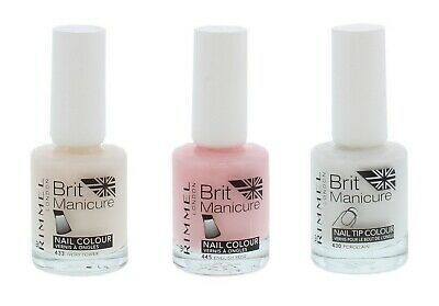 Rimmel London Brit Manicure Nail Colour Vernis & Ongles - For Girls Nails Beauty