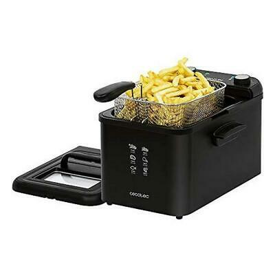 Fritteuse Cecotec CleanFry Infinity 4000 4 L 3270W Schwarz