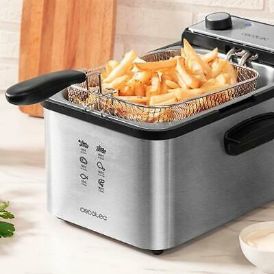 Fritteuse Cecotec CleanFry Infinity 3000 3 L 2400W Edelstahl
