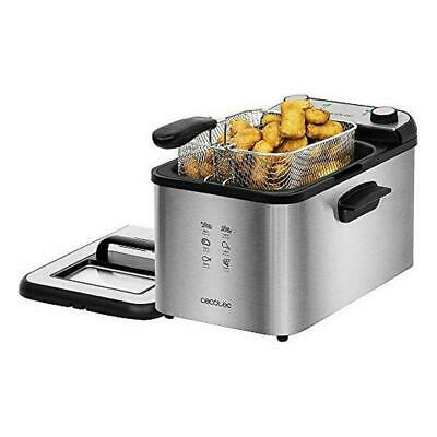 Fritteuse Cecotec CleanFry Infinity 4000 4 L 3270W Schwarz Silber