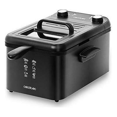 Fritteuse Cecotec CleanFry Infinity 3000 3 L 2400W Schwarz