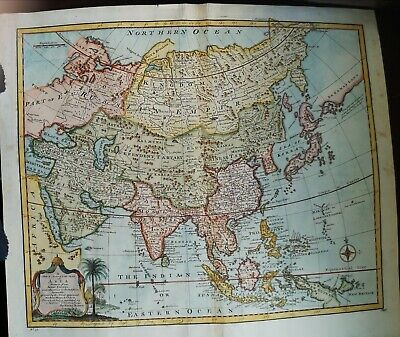 1747 Map of Asia