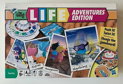 The Game Of Life - Adventures Edition - Board Game Hasbro