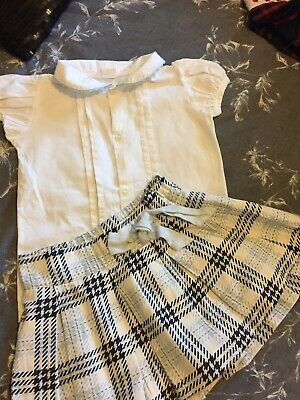 Romany Spanish Skirt And Blouse Size 4 Years