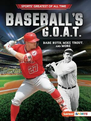 MLB BASEBALL Poster G.O.A.T Goat Greatest All Time Poster [24 x 36] Inch 1