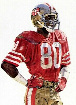 JERRY RICE Poster G.O.A.T Goat Greatest All Time Poster [24 x 36] Inch 5