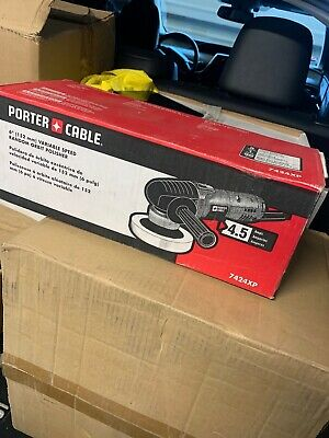 "Porter-Cable 7424XP 7424 6/"" Variable-Speed Random Orbit Polisher NEW Electric"