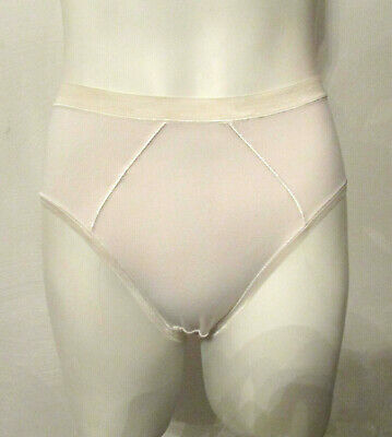 VTG BALI 2087 Pima Cotton/Lycra Spandex Panties sz 5 High Leg High Waist Briefs