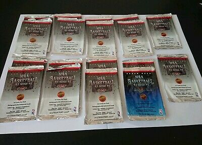 x 18 1992/93 Upper Deck NBA Basketball opened Empty Wrappers /Packets
