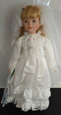 The Classique Collection Porcelain Doll - Crystal