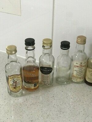 Scotch whisky collectables miniatures